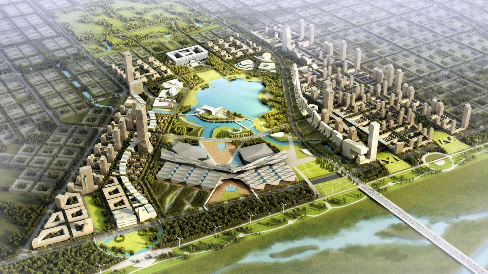 正定新區中心公園周邊地區綜合設計