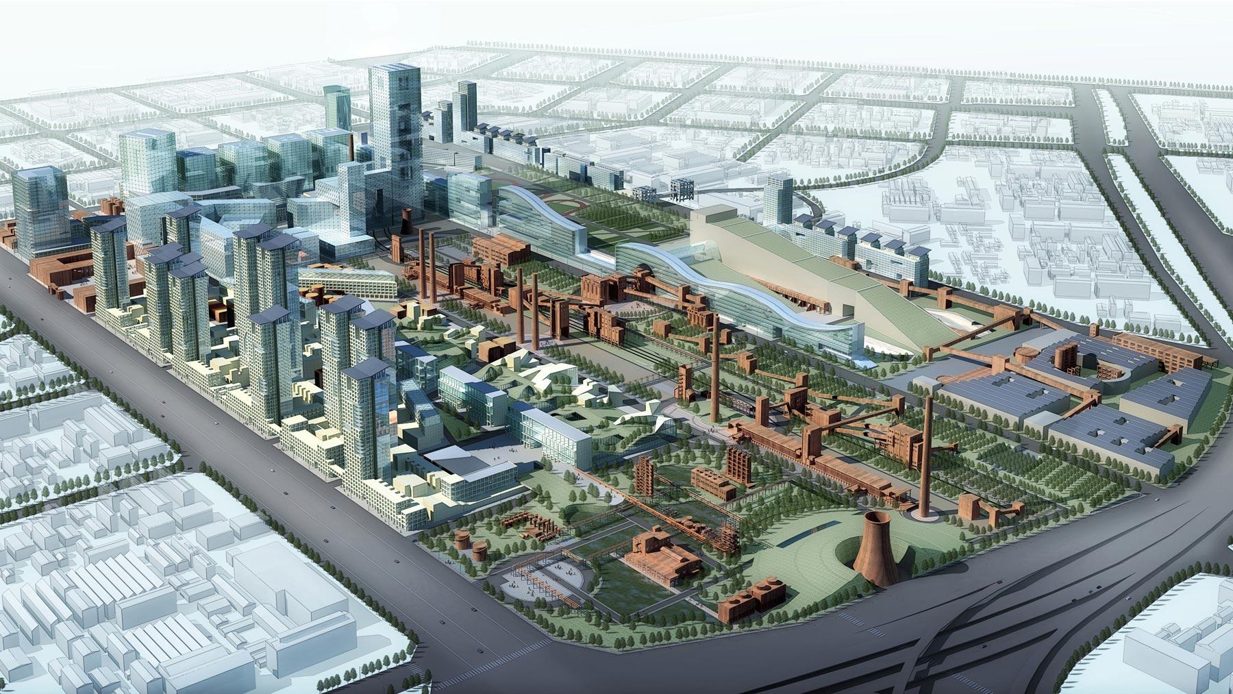 北京焦化廠工業遺址保護與開發利用規劃