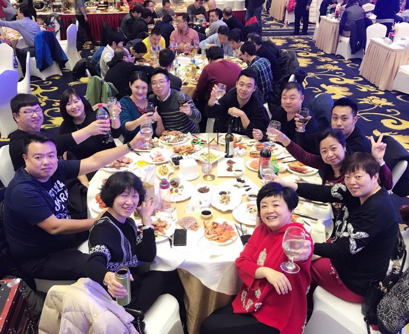 2017年度天津市瑞邦數碼年年終大會圓滿落幕