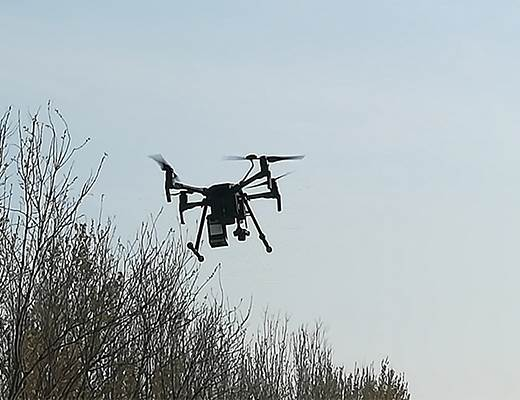 我院中科飛航公司協助燃氣公司開展管網安全隱患排查行動