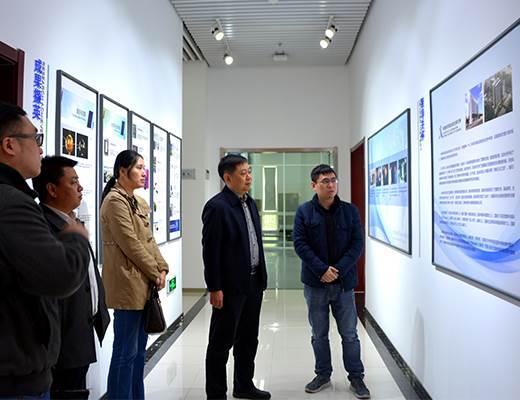 市科技局區域創新處領導來我院調研
